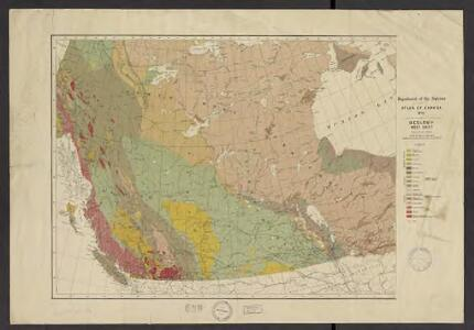 Atlas of Canada. No. 4, Geology, west sheet