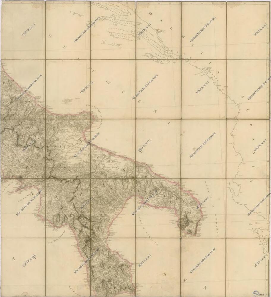 Bez Titulu Mapa Stredni A Jizni Italie