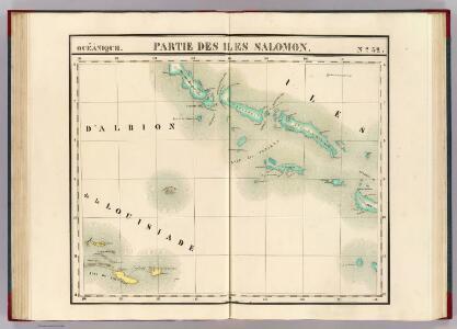 Partie, Iles Salomon. Oceanique no. 32.