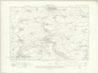 Denbighshire XLIV.NW - OS Six-Inch Map