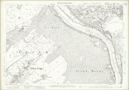 Somerset III.13 (includes: Abbots Leigh; Bristol; Long Ashton) - 25 Inch Map