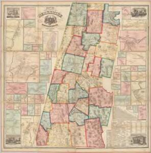 Map of the county of Berkshire, Massachusetts : based upon the trigonometrical survey of the state