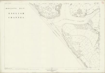 Cornwall LXXX.1 (includes: Gunwalloe; Helston) - 25 Inch Map