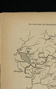 Übersichtskarte von Mitteleuropa