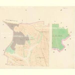 Tuschkau (Tauschkow) - c4606-1-001 - Kaiserpflichtexemplar der Landkarten des stabilen Katasters