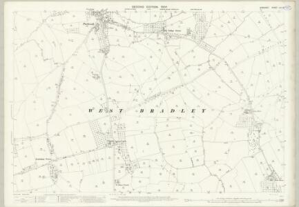 Somerset LIII.14 (includes: Baltonsborough; East Pennard; West Bradley) - 25 Inch Map