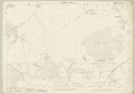 Hampshire and Isle of Wight LXII.1 (includes: Alderholt; Cranborne; Damerham) - 25 Inch Map