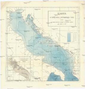 Karta o dubljinama Jadranskoga mora