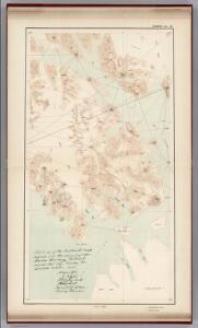 Sheet No. 15.  (Cross Sound, Glacier Bay, Muir Bay, Brady Glacier).