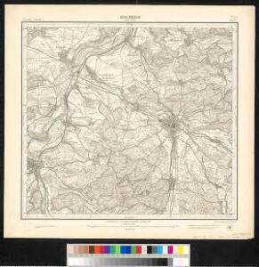 Meßtischblatt [7322] : Kirchheim unter Teck, 1905