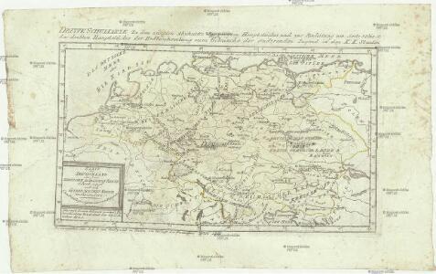 Karte von Deutschland, oder, dem Heilligen Römischen Reiche überhaupt und dem Östreichischen Kreise insbesondere
