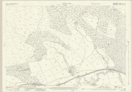 Radnorshire XI.12 (includes: Bucknell; Stanage; Stowe) - 25 Inch Map