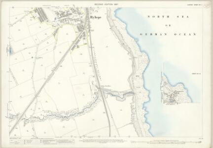 Durham XIV.11 (inset XIV.16) (includes: Burdon; Ryhope; Seaham) - 25 Inch Map