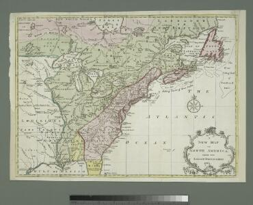 A new map of North America from the latest discoveries, 1763.