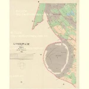Kaiserwalde - c0761-2-003 - Kaiserpflichtexemplar der Landkarten des stabilen Katasters