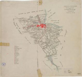 Mapa planimètric de Sant Boi de Llobregat