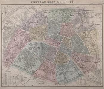 Nouveau plan de Paris