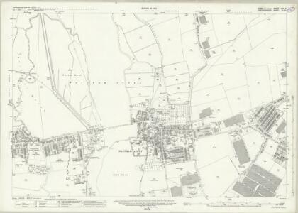Essex (New Series 1913-) n LX.9 (includes: Cheshunt; Waltham Holy Cross) - 25 Inch Map