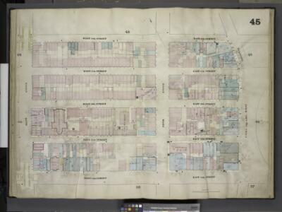 [Plate 45: Map bounded by West 18th Street, East 18th Street, Broadway, Union Square Street, East 14th Street, West 14th Street, Sixth Avenue; Including West 17th Street, East 17th Street, West 16th Street, East     16th Street, West 15th Street, East