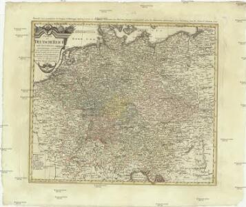 Charte das Deutsche Reich nach seinen Kreisen und deren Unterabtheilungen vorstellend
