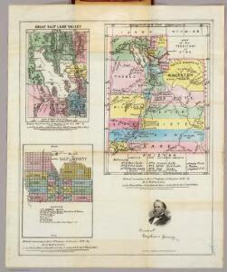 Map of the Territory of Utah.