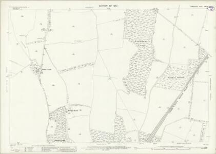 Hampshire and Isle of Wight XXV.3 (includes: Overton; Steventon) - 25 Inch Map