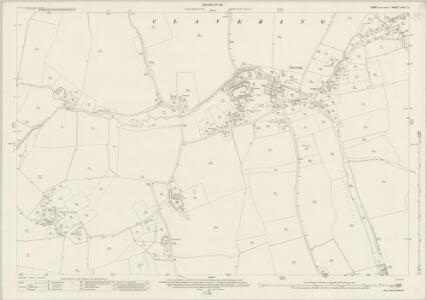 Essex (New Series 1913-) n XIII.13 (includes: Clavering) - 25 Inch Map