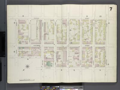 Brooklyn, V. 1, Double Page Plate No. 7 [Map bounded by Richards St., Partition St., Conover St., Imlay St., Verona St.]