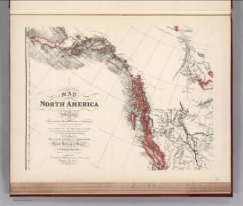 Facsimile:  Faden's Map North America (portion).