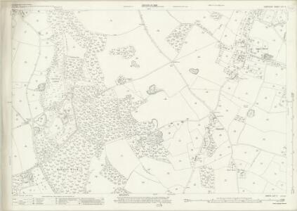 Hampshire and Isle of Wight LIV.11 (includes: Breamore; Fordingbridge; Rockbourne; Whitsbury) - 25 Inch Map