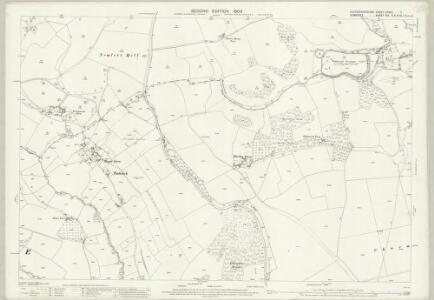 Gloucestershire LXXVII.7 (includes: Batheaston; Charlcombe; Cold Ashton; St Catherine; Swainswick) - 25 Inch Map