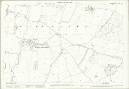 Gloucestershire VI.11 (includes: Aston Somerville; Childs Wickham; Hinton on the Green; Sedgeberrow) - 25 Inch Map