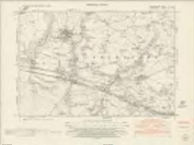 Denbighshire IX.NE - OS Six-Inch Map