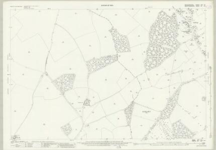 Bedfordshire XXX.10 (includes: Lilley; Luton; Offley; Streatley) - 25 Inch Map