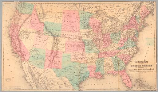 Railroad map of the United States to accompany the
