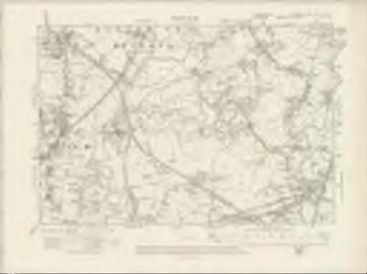 Lancashire CXII.NW &NE - OS Six-Inch Map