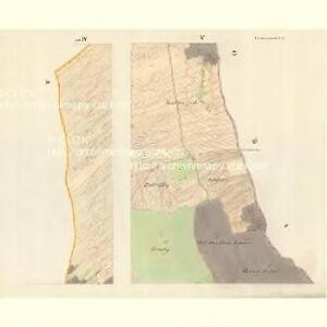 Horniemtsch - m0805-1-005 - Kaiserpflichtexemplar der Landkarten des stabilen Katasters