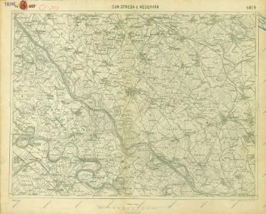 III. vojenské mapování 4859