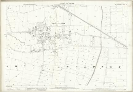 Nottinghamshire X.15 (includes: North Leverton With Habblesthorpe; South Leverton) - 25 Inch Map