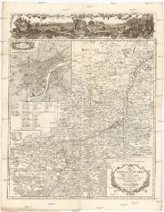 Carte de la principauté de Liege et de ses environs