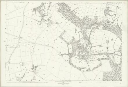 Cornwall XXXII.10 (includes: Mawgan in Pyder; St Columb Major) - 25 Inch Map