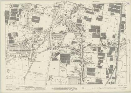 Hertfordshire XLI.8 (includes: Cheshunt) - 25 Inch Map