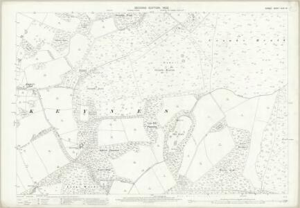 Dorset XLIX.14 (includes: Coombe Keynes; East Lulworth; East Stoke; Wool) - 25 Inch Map