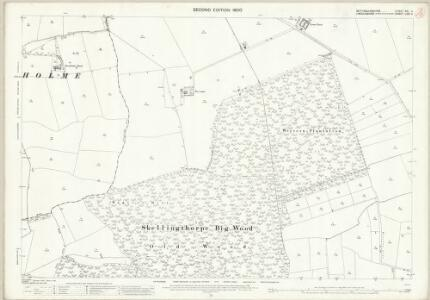 Nottinghamshire XXI.4 (includes: Broadholme; Doddington And Whisby; Skellingthorpe) - 25 Inch Map
