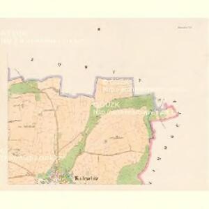 Kadeschitz - c2968-1-002 - Kaiserpflichtexemplar der Landkarten des stabilen Katasters