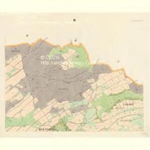 Gross Nixdorf - c4628-1-003 - Kaiserpflichtexemplar der Landkarten des stabilen Katasters