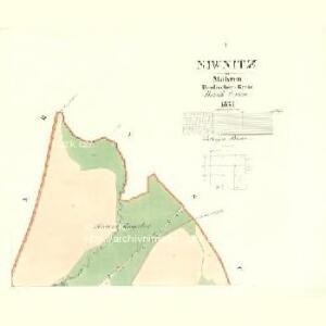 Niwnitz - m2006-1-001 - Kaiserpflichtexemplar der Landkarten des stabilen Katasters