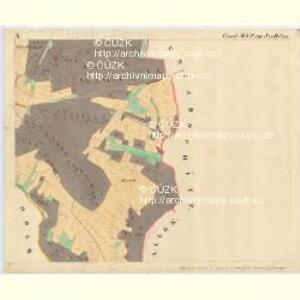 Fratting - m3476-1-012 - Kaiserpflichtexemplar der Landkarten des stabilen Katasters