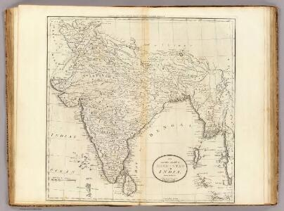 Map of Hindostan or India.