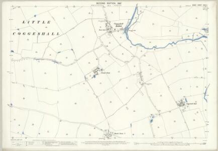 Essex (1st Ed/Rev 1862-96) XXXV.2 (includes: Coggeshall; Feering; Kelvedon) - 25 Inch Map